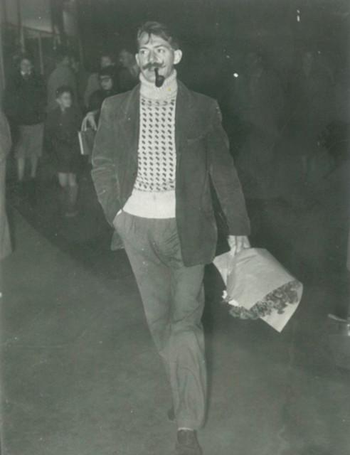 Erik, 1953. Boulevard St. Michel, Paris.