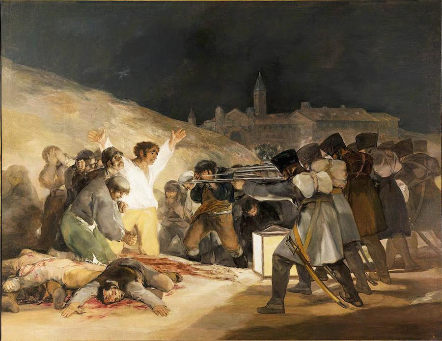 The Third of May, Francisco Goya