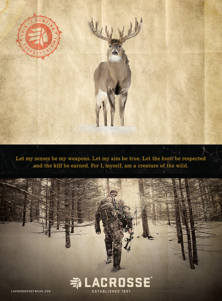 LaCrosse Hunt Advertising Design