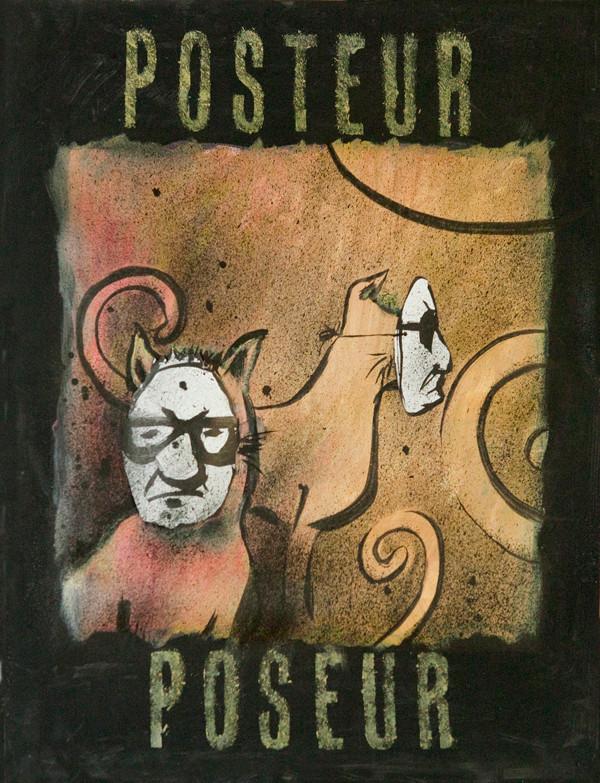 Ann Zumwinkle; Robbie Conal Poster Roast