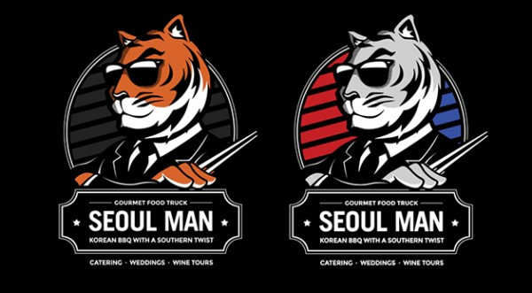 seoul-man-food-truck-illustration-design-logos