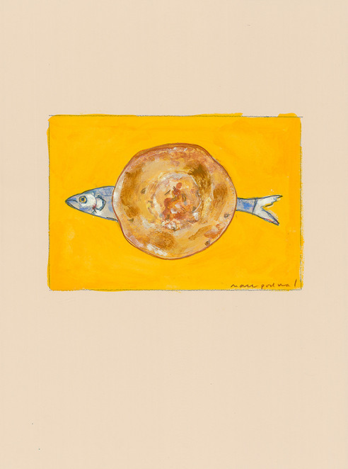 Herring on a Bialy