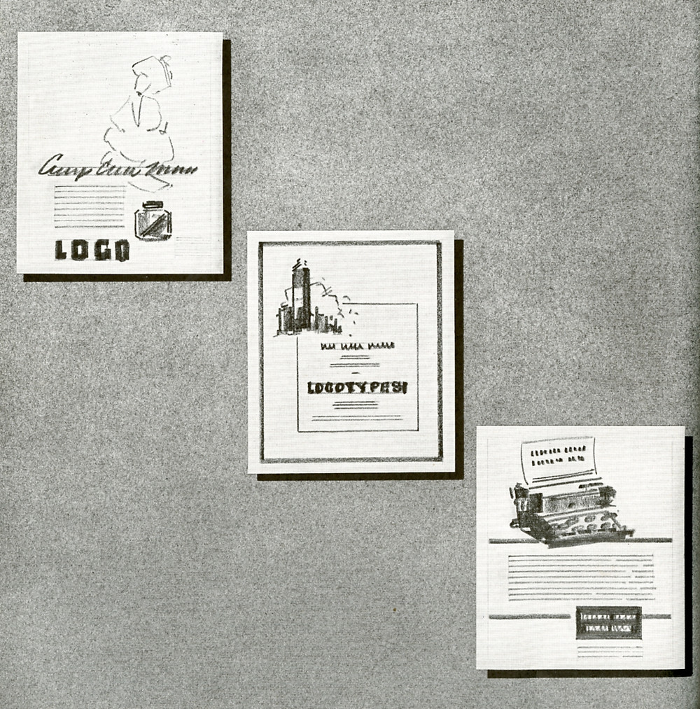 Advertising layout