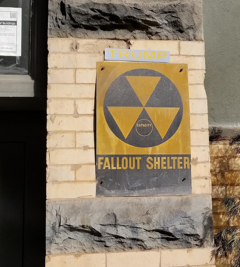 trump fallout shelter