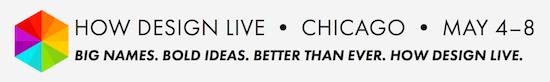 HOW design live Banner