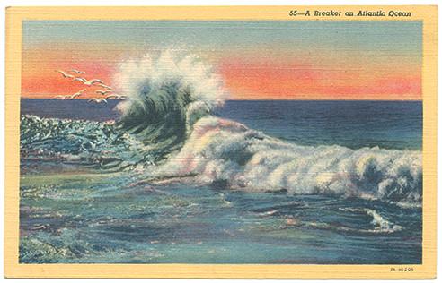 (pg 114) _A Breaker on Atlantic Ocean_ Teich 3A-H1205, 1934