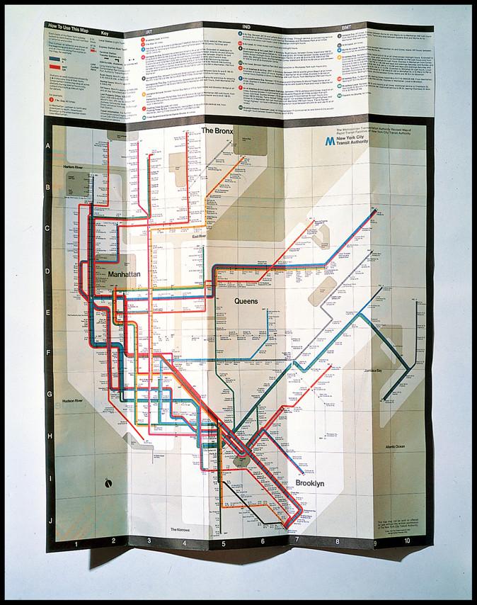 Vignelli - 1966 NY MTA Subway Map_c