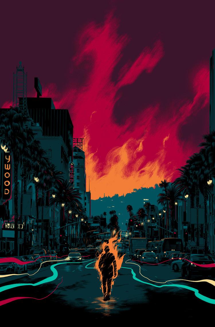 Matt Taylor illustration for Image Comics' 'Wolf'