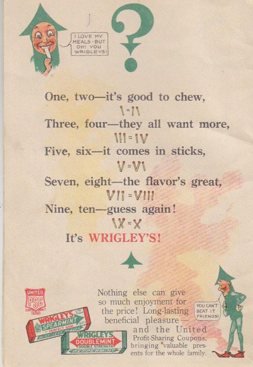 wrigleys 6