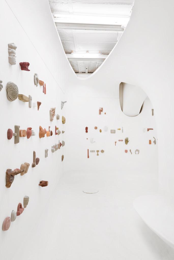 """Leonid Tsvetkov's installation, """"Transfer"""","""