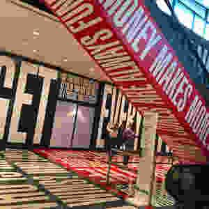"Barbara Kruger's ""Belief+Doubt=Sanity"" is a Hirshhorn exhibit."