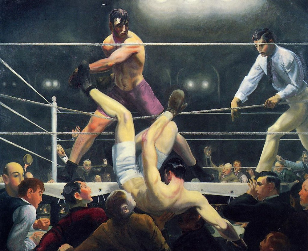 George Bellows Dempsey Firpo