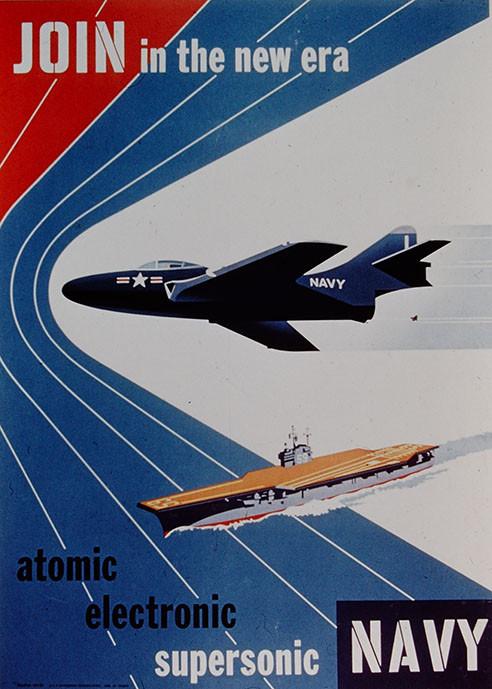 Navy ensilting poster
