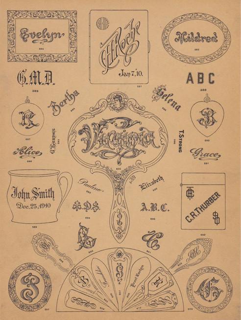monograms 1