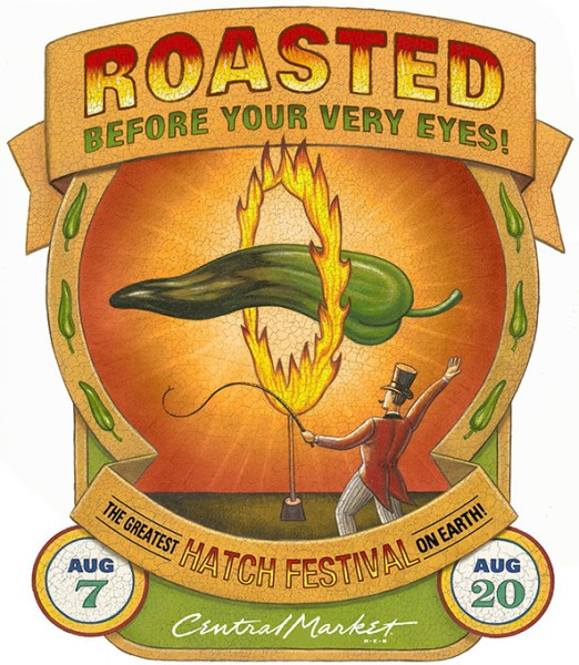 Hatch Chile Festival Poster