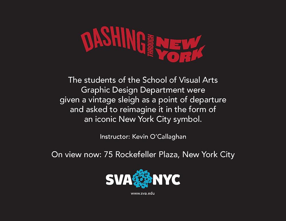 """Dashing Through New York"" by Kevin O'Callaghan"