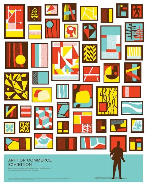 Art for Commerce Poster