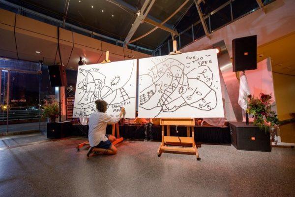 Shantell Martin at work