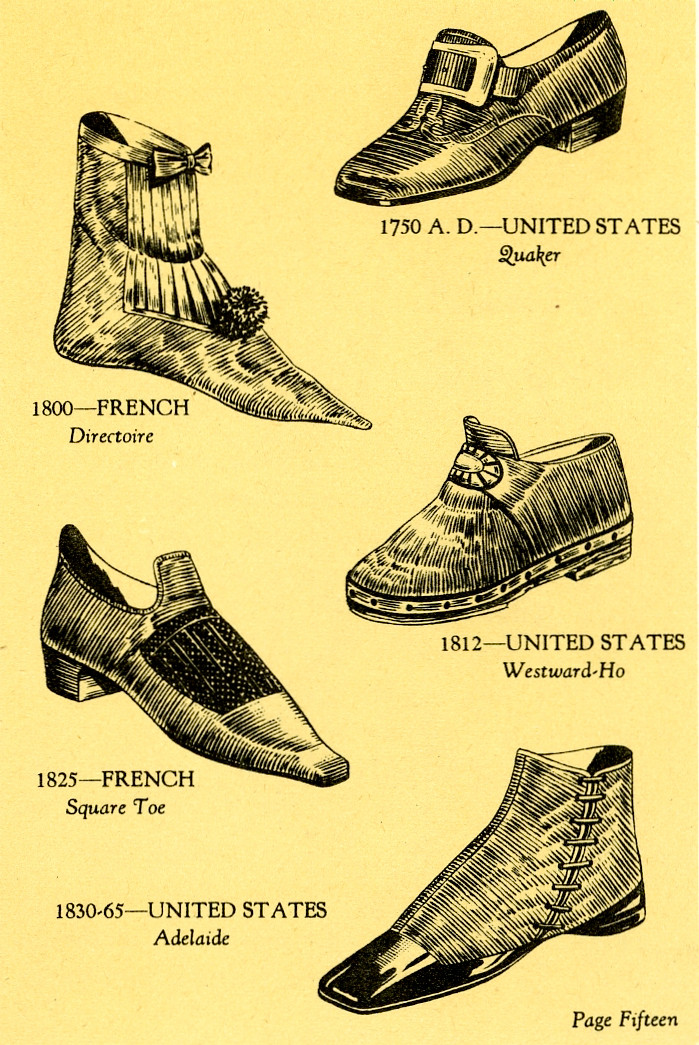 Shoes thru the ages page 2