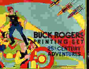 Buck Rogers Printing Set