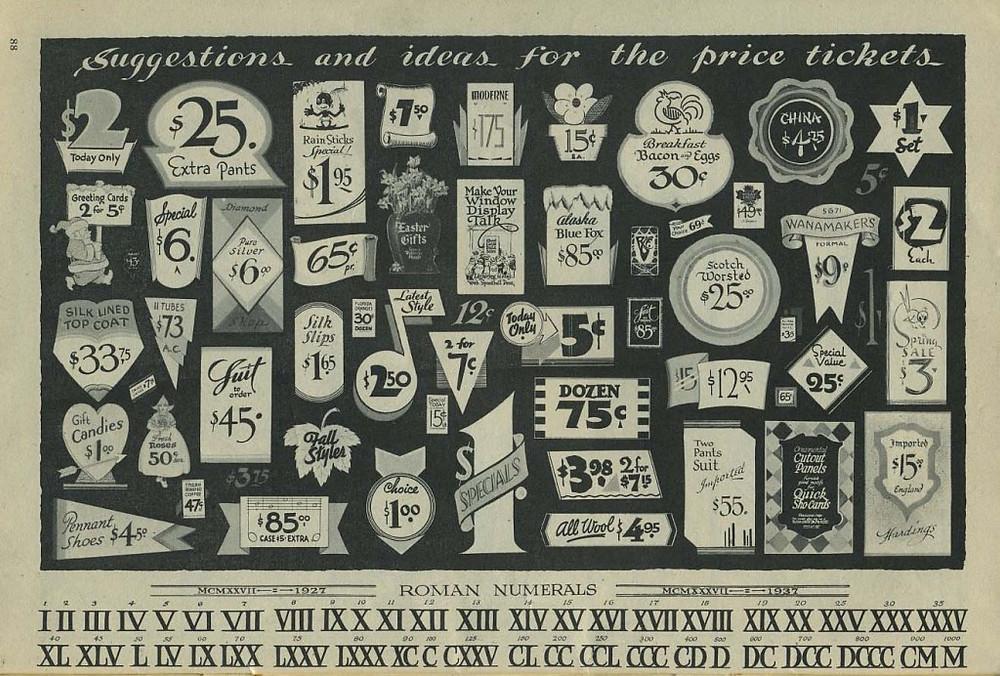 Price tix.