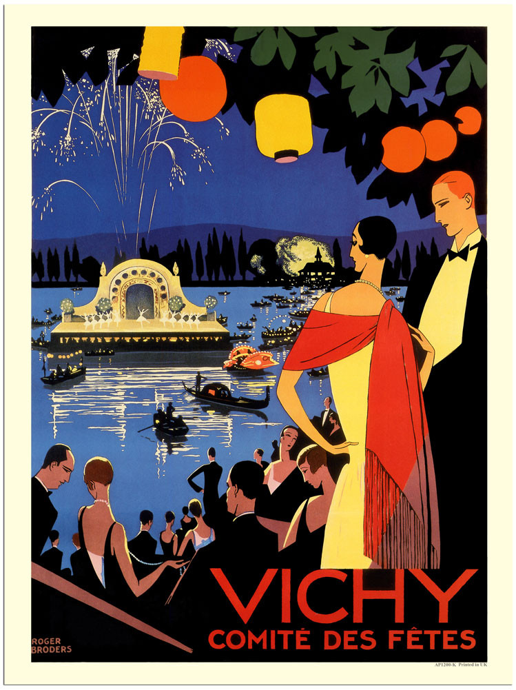 Group3_AP1200K-vichy-france-art-deco-travel-poster-roger-broders-1920s