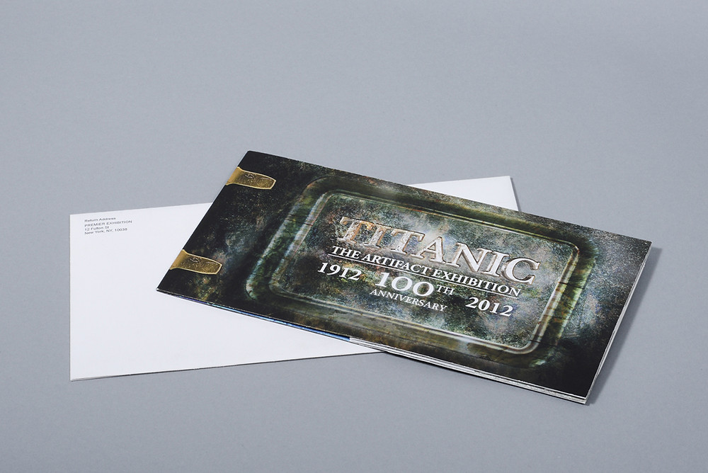 Titanic: The Artifact Exhibition invitation by Erkan Cetin
