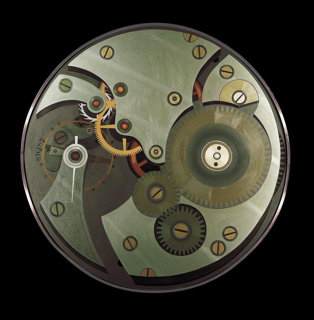 Waltham Automobile Clock Mechanism