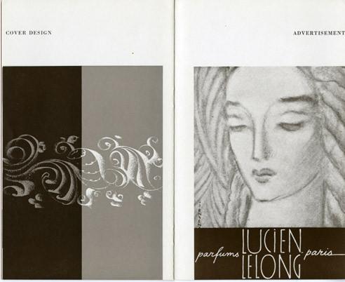Gustav Jensen Cover Design perfune Lucien Lelong
