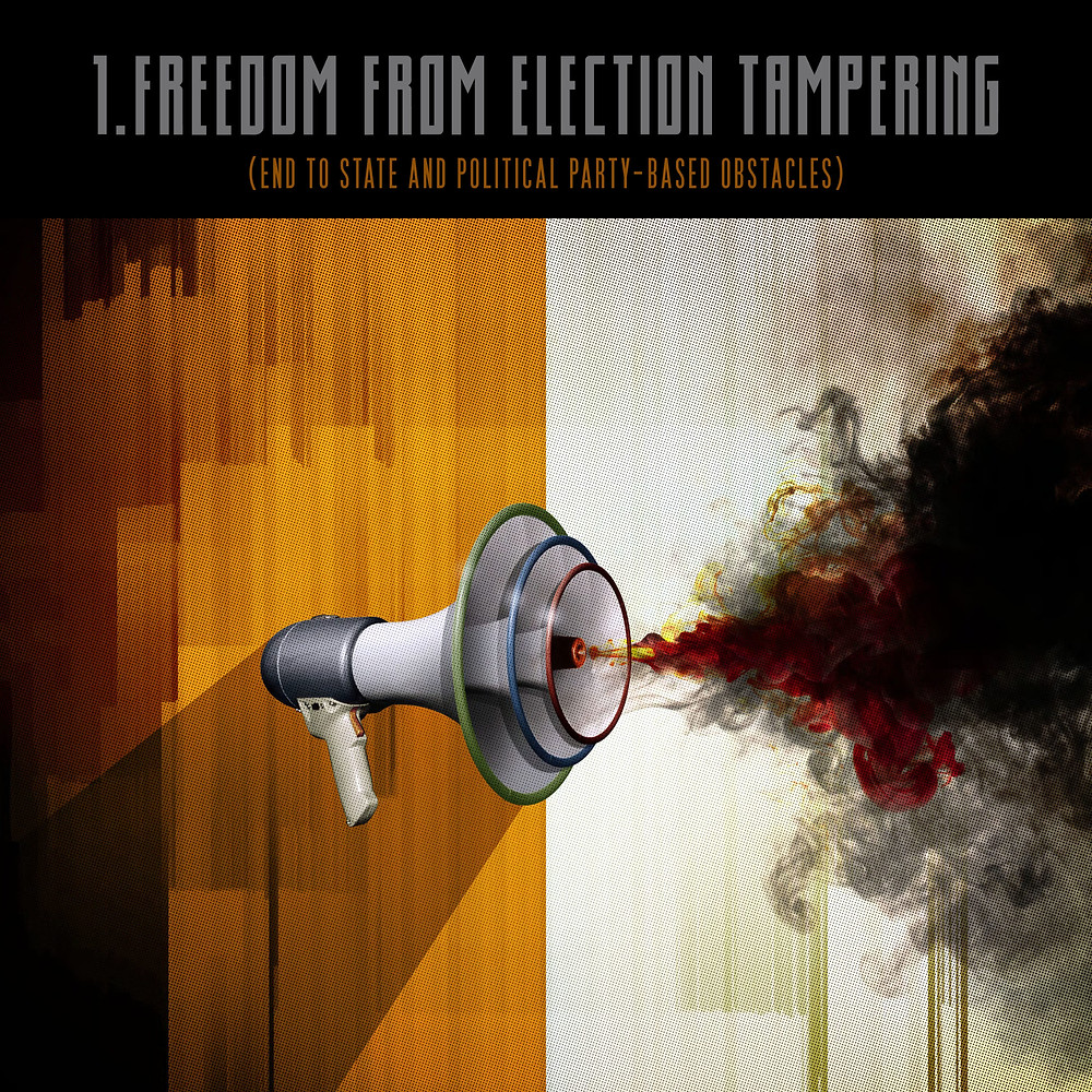 1.Freedom from election tampering