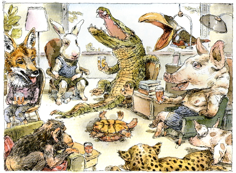 John Cuneo is an illustrator.