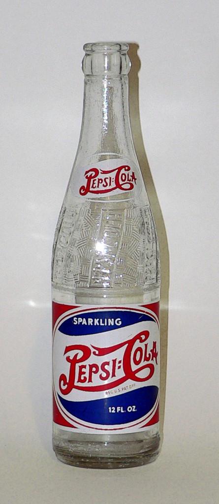 1940s pepsi bottle