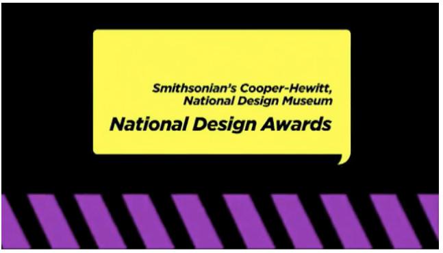 Smithsonian Institution's National Design Award