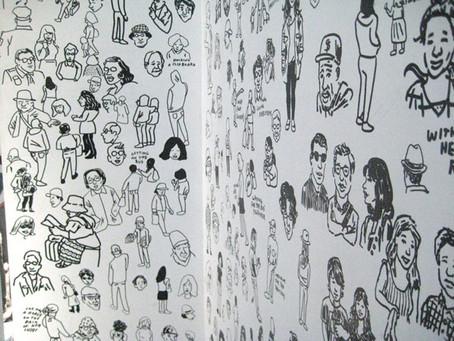 Jason Polan, Levi's, San Francisco & Art!