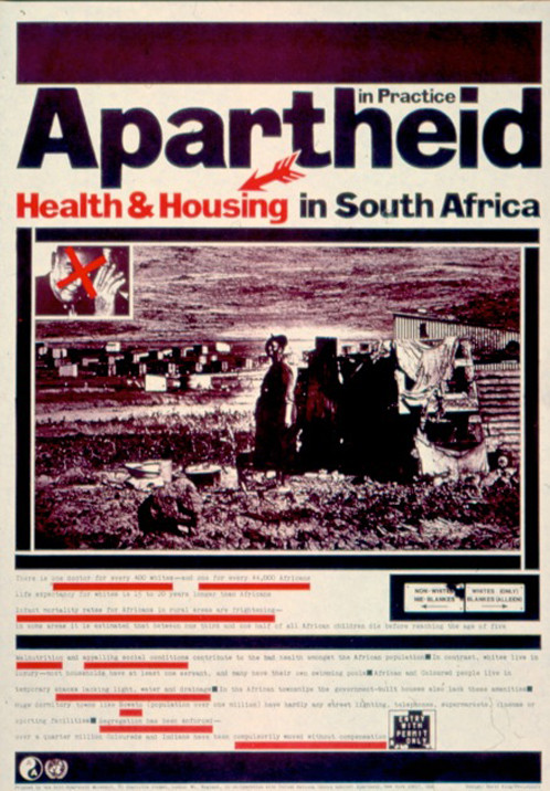 Apartheid in south africa post