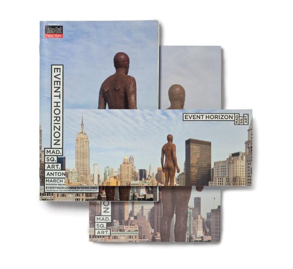 Event Horizon identity and collateral design (creative director: Paula Scher), 2010