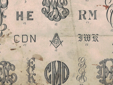 The Modern Monogram: A Historic Survey of Ciphers, Marks and Monograms