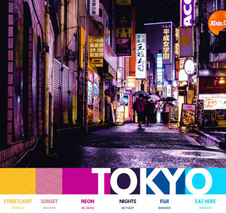 Tokyo color themes