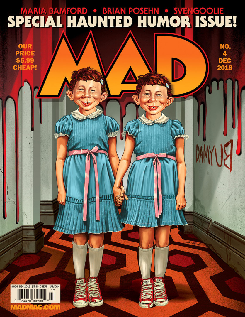 Mad Magazine Issue #4 cover by Gary Pullin