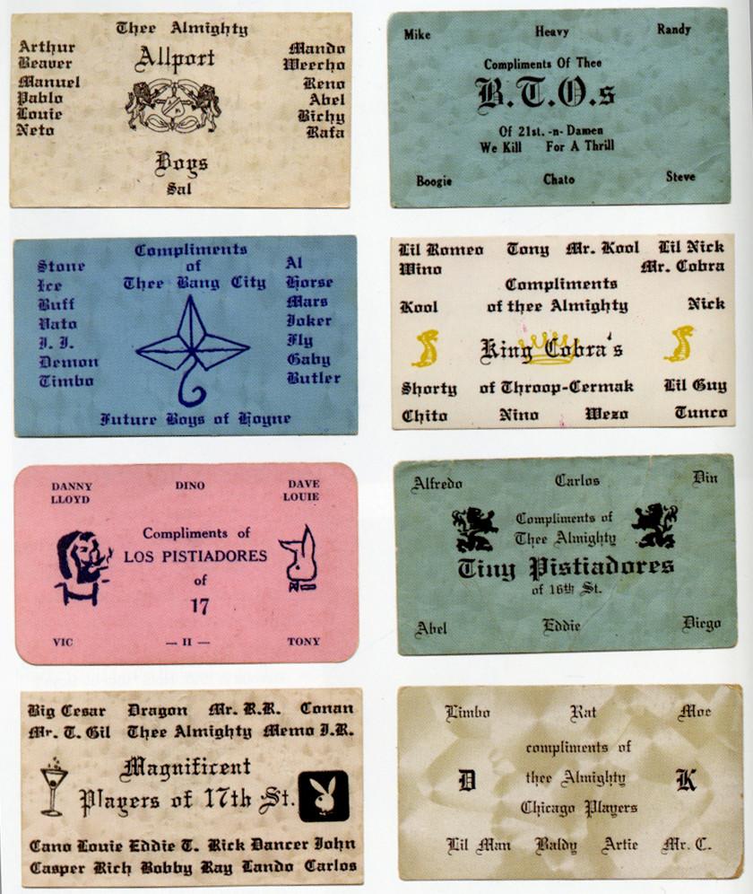 Gang Cards