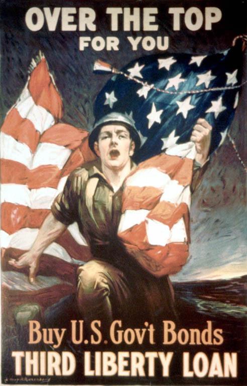 American flag propaganda is a staple across the world.