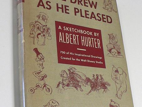 As Albert Hurter Drew, He Pleased The Disney Artists Around Him