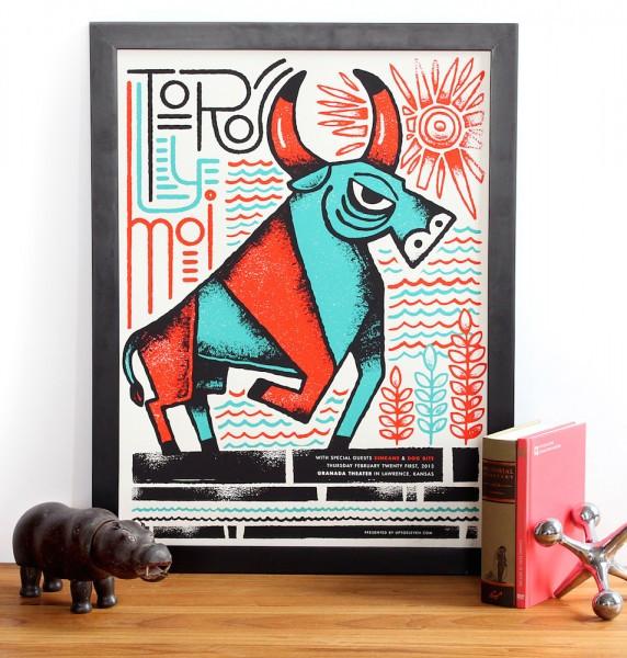 tad carpenter - Toro y Moi Poster