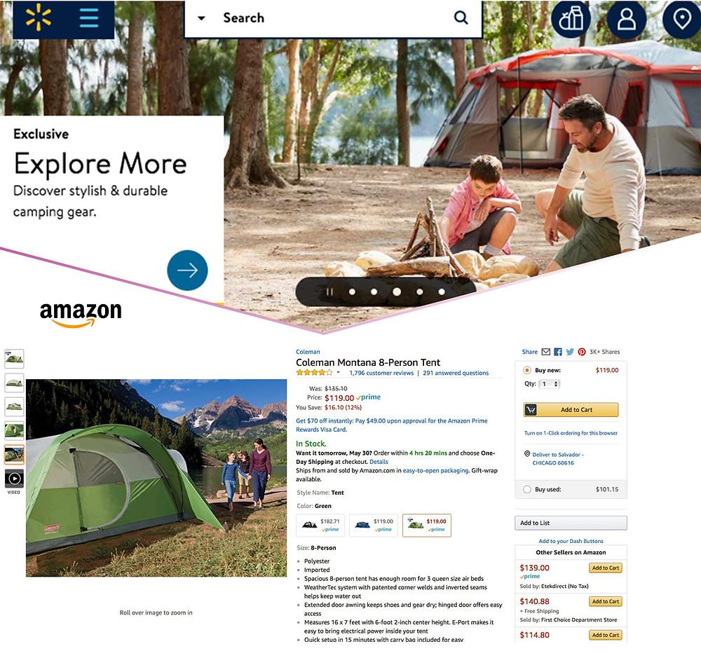 Walmart.com redesign