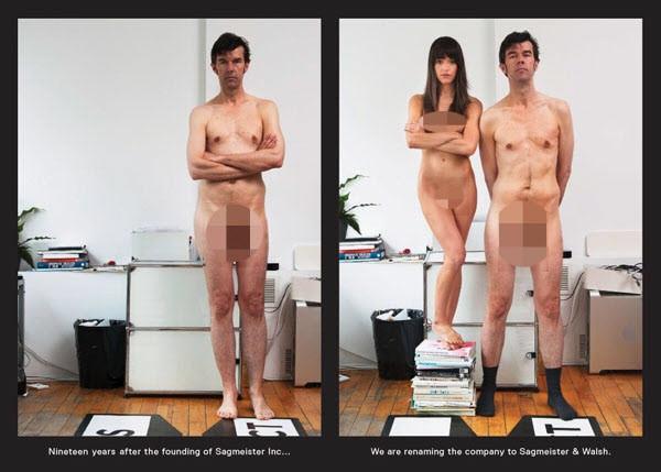Sagmeister Walsh nude Card