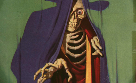 Skull Art: When Death Covered the Newsstand