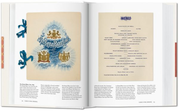 """A La Carte: Menu Design in America"" features restaurant menu design of past decades."