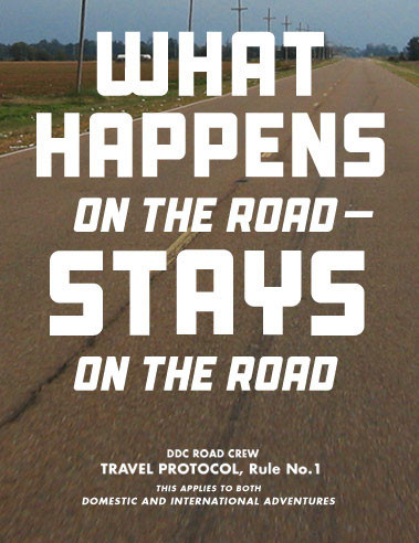 open_road_rule_01; poster design
