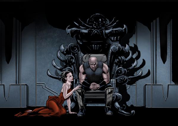"""Riddick"" motion comic, Aaron Sowd"