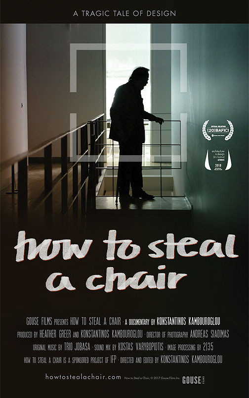 How to steal a chair Poster